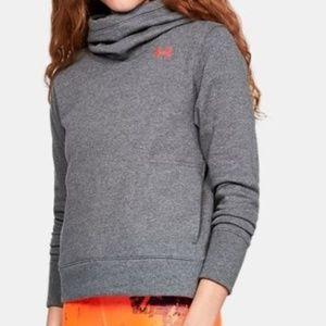 New Under Armour Fleece Logo Hoodie Sweatshirt XL